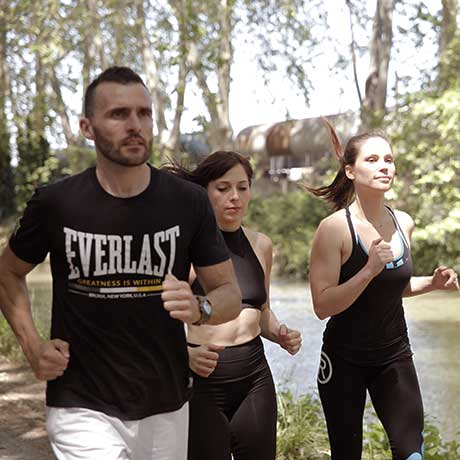 Coaching / course à pied plein air au canal du midi