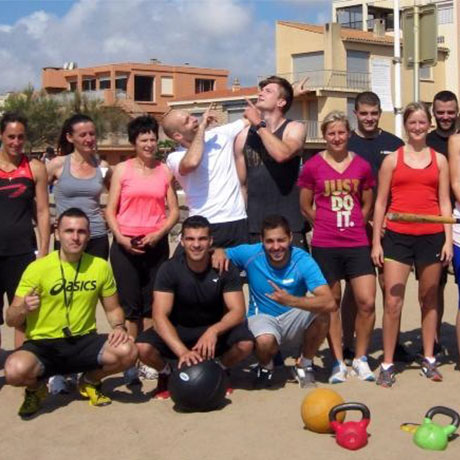 Session Bootcamp plage equipe